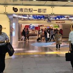 東京おかしランドさんを正面に見て、左側の通路に入ります。