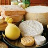 北海道チーズ3点盛り合わせ