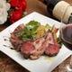赤ワインと炭火焼き肉