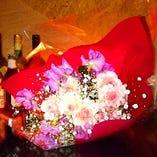 ◆花束のご用意☆プリザーブドフラワーもご予算に合わせて◆