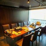 各種お食事会に!テーブル個室
