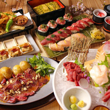 池袋西口 肉寿司  こだわりの画像