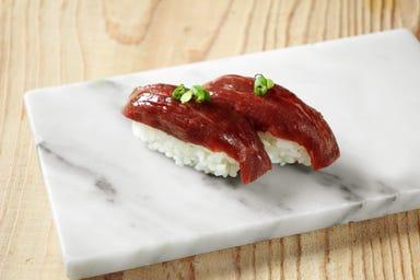 池袋西口 肉寿司  メニューの画像