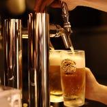 キリン一番搾り樽生 冷えたビールと焼肉は相性抜群!