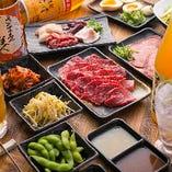 【 たっぷり全80種 】焼肉食べ放題コース 2,980円(税抜)