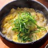 玉子スープ 汁ものも豊富です。