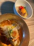 冷麺セット(ハーフビビンバ)