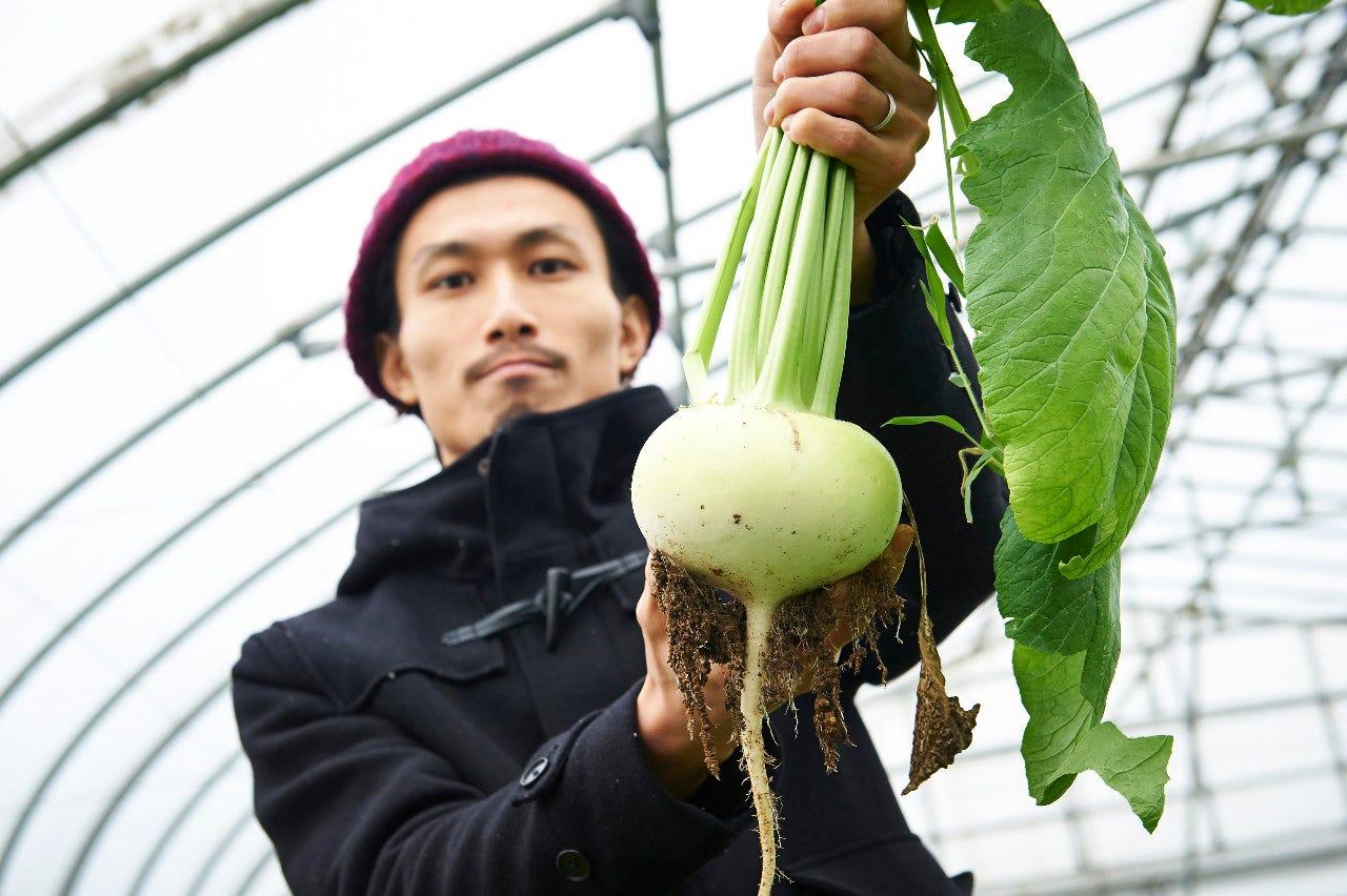 農家さんの野菜。最高だと思います。