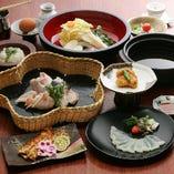 """◆今の""""旬""""の食材を鮮度の高い状態で調理し御提供致します"""