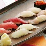 おまかせにぎり寿司