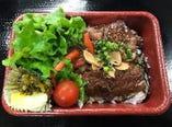 牛ハラミステーキ丼
