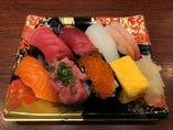 お持ち帰り握り寿司