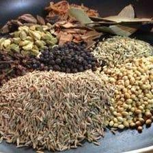 インドの香辛料を使用!