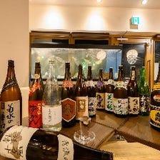 季節に応じた、日本酒をご用意しております。
