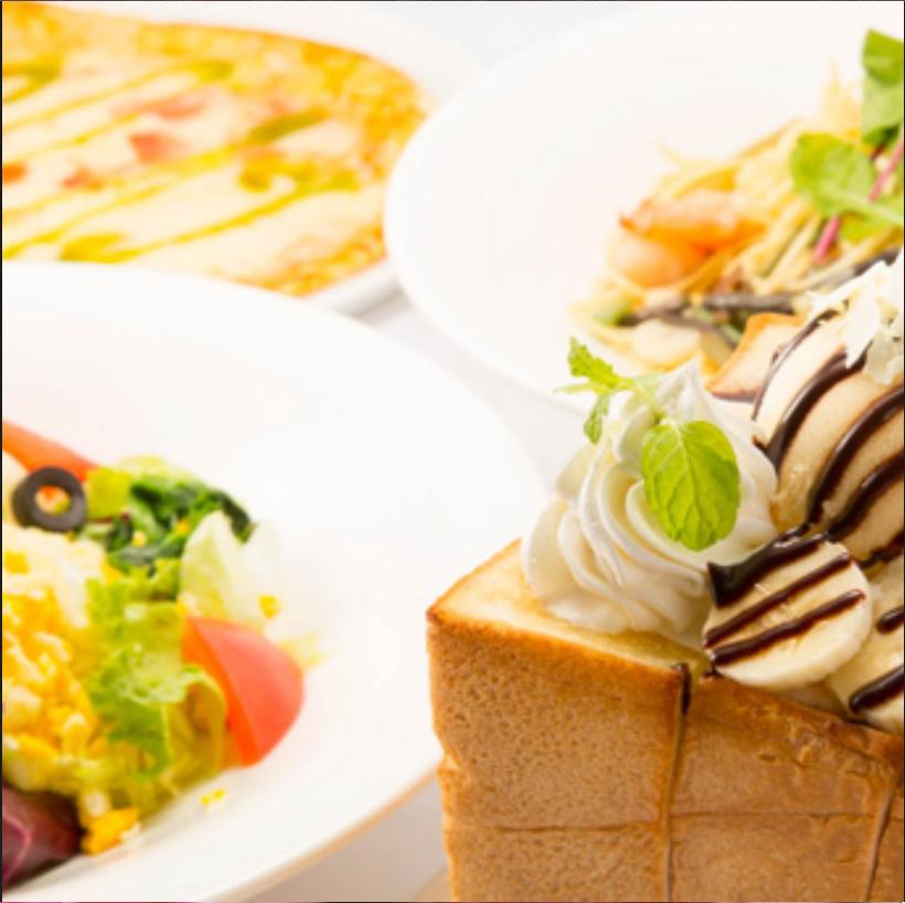 【お昼限定】ハニトーパック(選べる時間+選べるハニトー/スナック/スイーツ+選べる飲み放題)