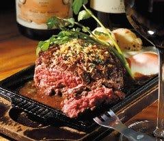 豪快な牛ブロックステーキ(熟成肉) 2~3人前