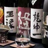 うすはり吟醸グラス、 錫製酒器等を用い、より上質な味わいに。