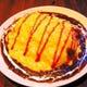 チーズオムライス・デミグラスソース