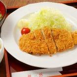 熟成黒豚ロースカツ御膳+ビュッフェ
