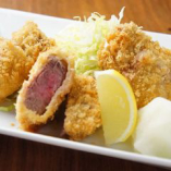 熟成黒豚ヒレカツ御膳+ビュッフェ