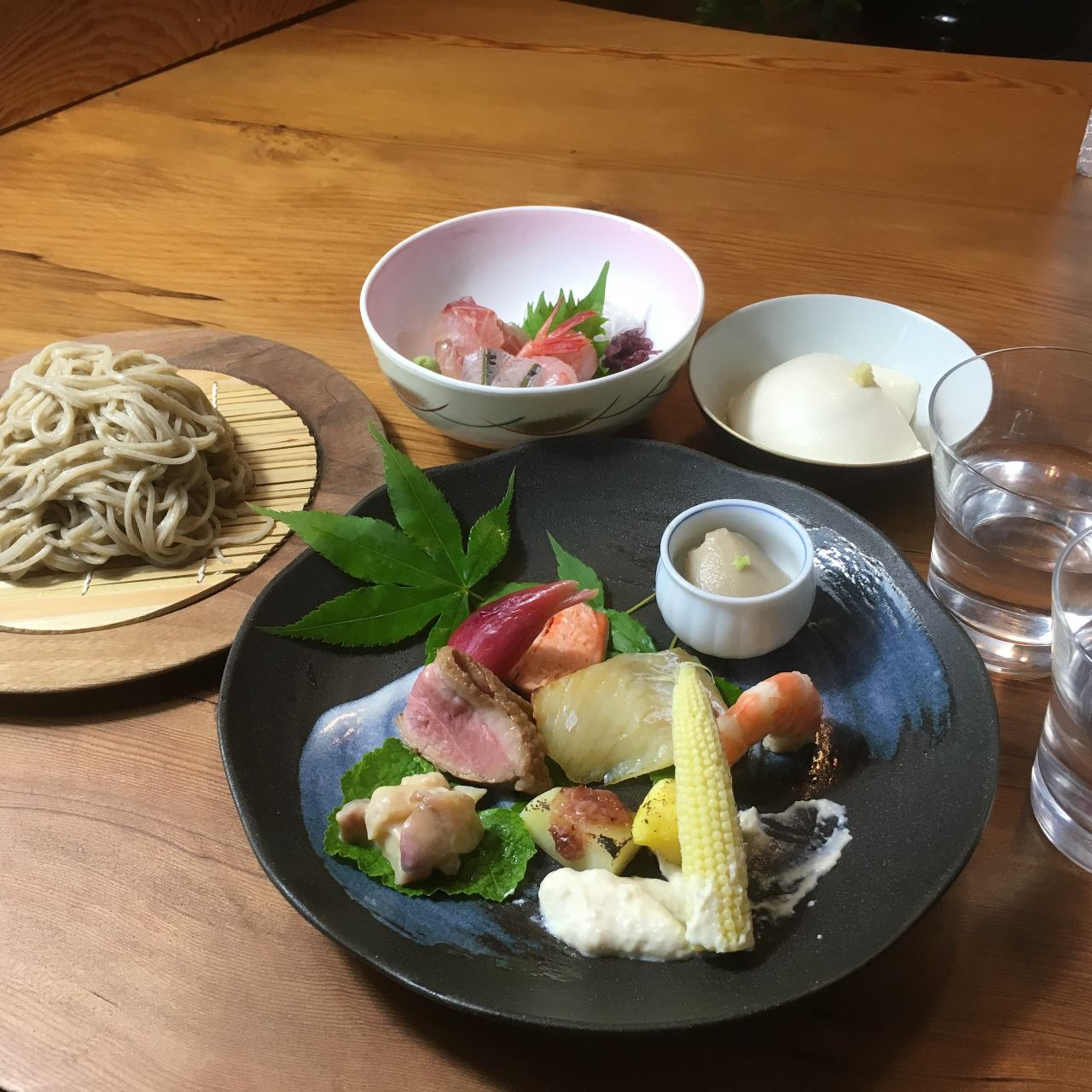 【夜の部】料理長おすすめコース 5,000円