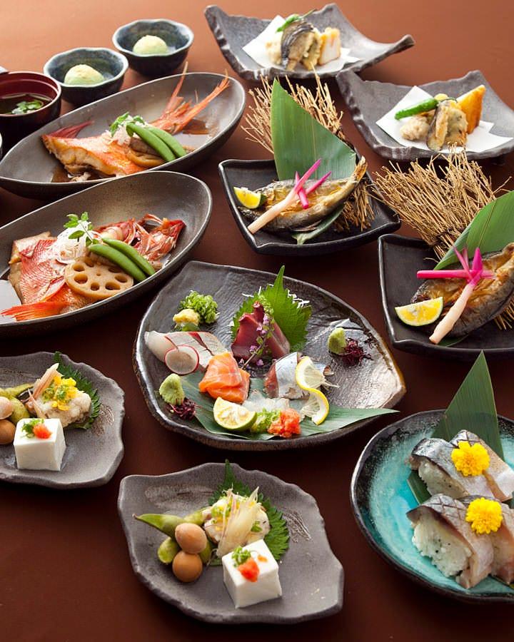 奥深い!色んなスタイルの魚料理フルコース