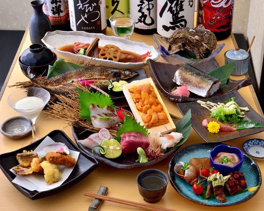 大切な方とのお食事に…紀州三昧コース