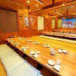 【種類豊富なお席】 テーブル席,掘りごたつ,個室など多数あり♪