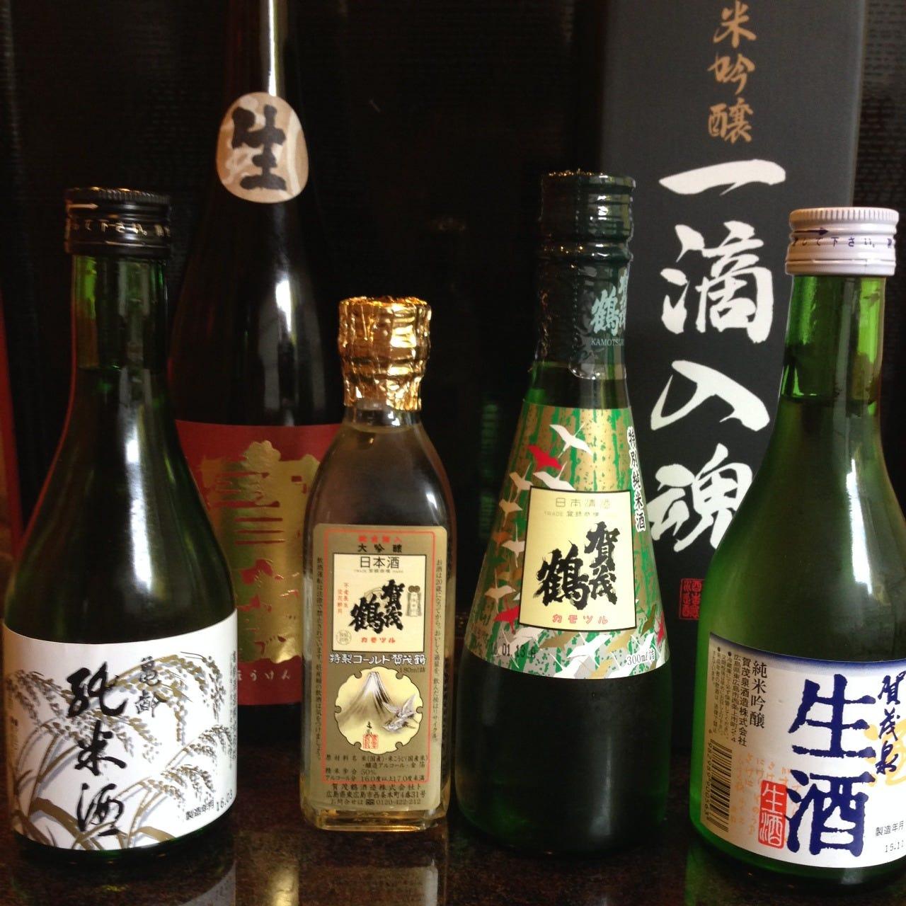 おすすめの広島地酒をご用意