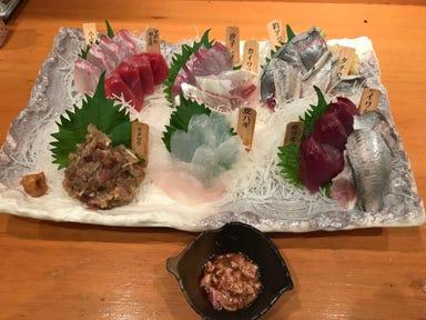 釣り魚の店 舟武  メニューの画像