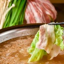 特製スープは3種類!名物レタしゃぶ