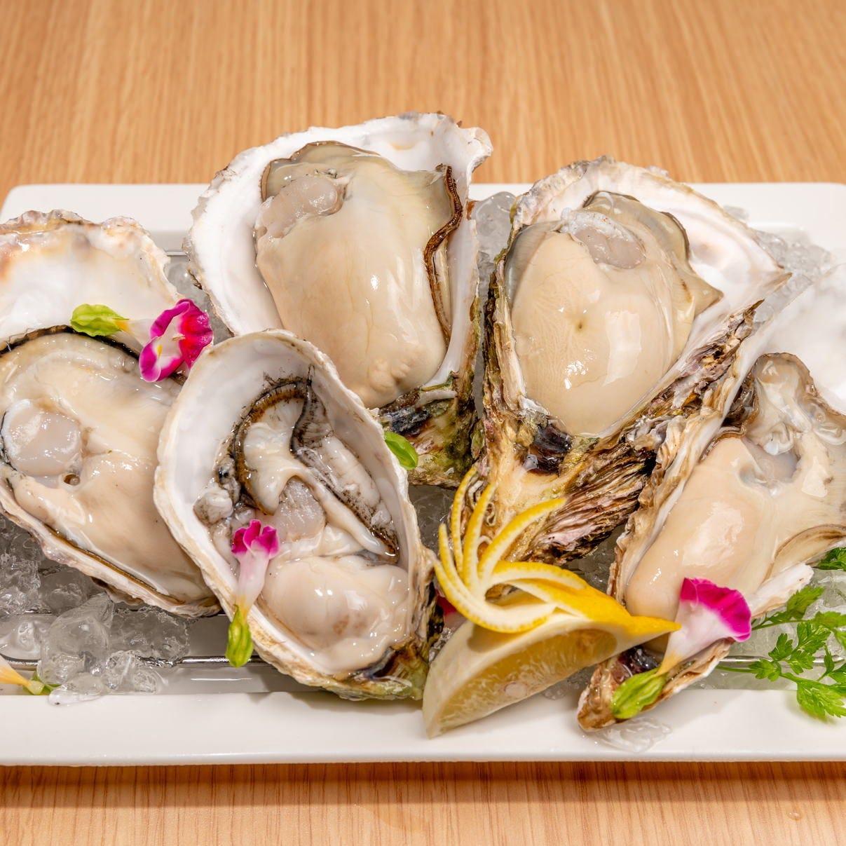 鮮度抜群!様々な調理法で牡蠣を堪能