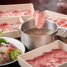 ◆【70分食べ放題】気軽に上質なお肉を満喫するなら『牛&豚セット』