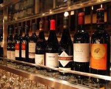 ソムリエが厳選のボトルワインは1,900円〜