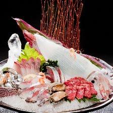 九州中の鮮度抜群の魚が集まります!