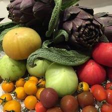 農家さん直送の有機野菜