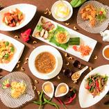 野菜ソムリエが栄養価の高いお料理をご提供いたします☆