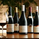 各種コース+1,500円(税抜)~ワイン付き飲み放題が可能です。