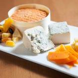 チーズ5種盛り