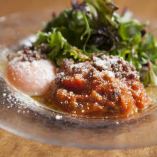 ラタトゥイユ・温泉卵のサラダ