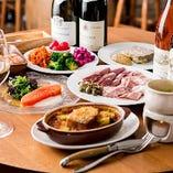 本格的なフランス料理をリーズナブルにお楽しみいただけるコースをご用意しました。
