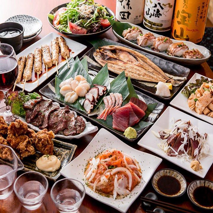 3時間本格九州料理コース2480円~