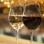 ハウスワイン グラス(赤・白)