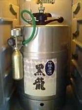 氷室、日本酒の生樽サーバー