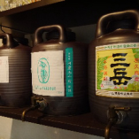 芋は三岳(鹿児島)、麦は九千坊(福岡)、米は鳥飼(熊本)