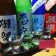 お得な、きき酒セット(1200円)