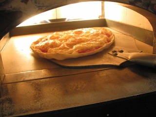 石窯焼き手造りピッツア