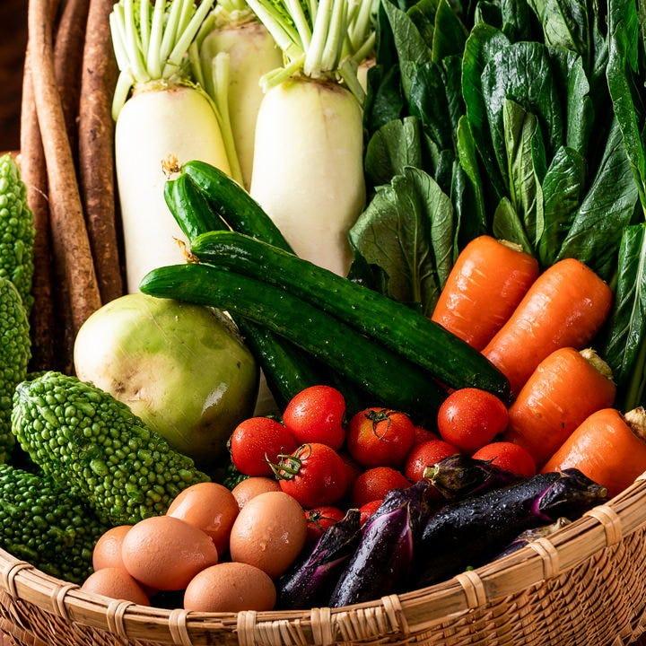 産地直送 新鮮野菜