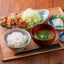 カリじゅう唐揚げ定食