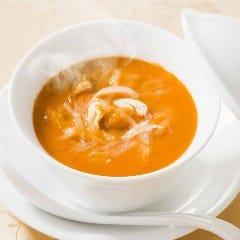 うにとフカヒレのスープ